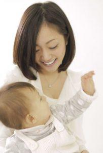 ママと赤ちゃんの元気な姿