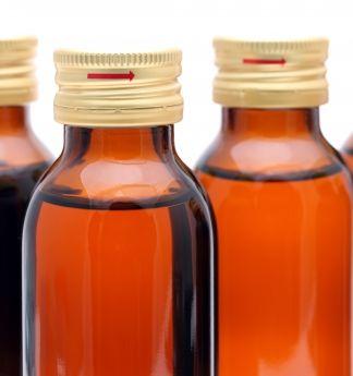 栄養や菌活ドリンクのボトル