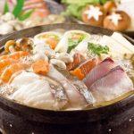 魚の入った海鮮鍋