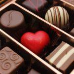 様々な種類のチョコレートアソート