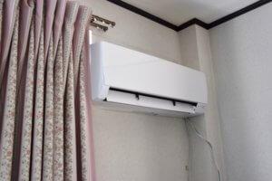 お部屋のエアコン