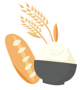ご飯とパン