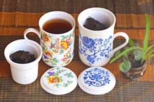 中国茶器とプーアル茶