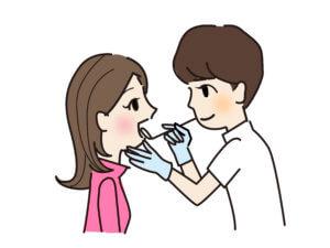 歯医者さんで歯科検診