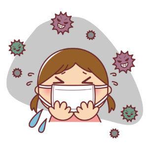 マスクで病気予防