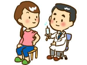 病院での予防接種